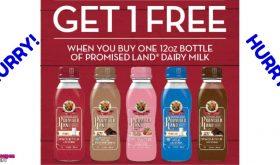 HURRY!!!  Promise Land Milk BOGO COUPON!!