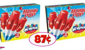 Bomb Pops just 87¢ each box at Winn Dixie for some!