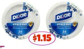 Dixie Plates just $1.15 at Winn Dixie!