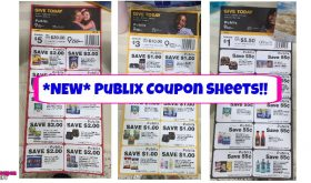 NEW Children's Miracle Network Coupon Sheets at Publix!