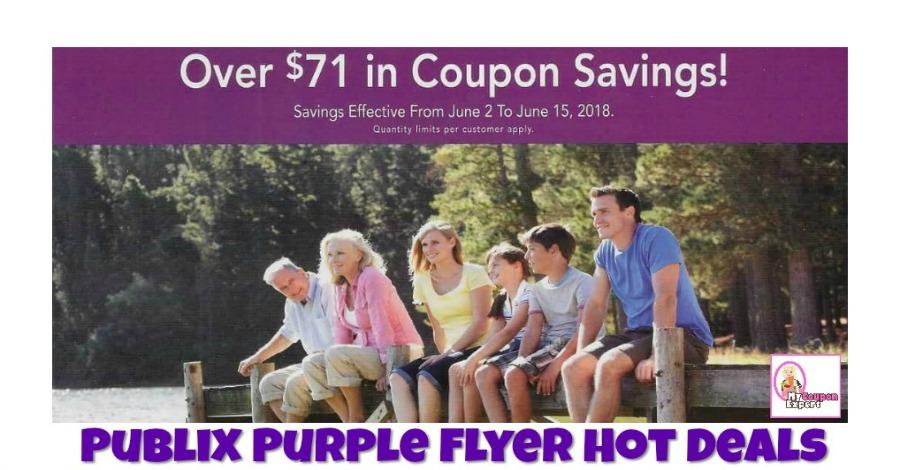 Publix Purple Flyer Deals June 2nd – 15th!