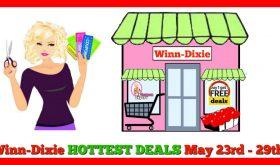 Winn Dixie HOTTEST DEALS May 23rd – 29th!