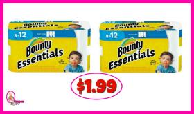 Bounty Paper Towels 8 pack $1.99 at Winn Dixie!