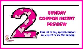 Coupon Insert Preview – Sunday, July 22nd TWO INSERTS!