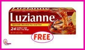 Luzianne Tea FREE at Winn Dixie for some!