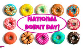 National Donut Day June 1st!!!