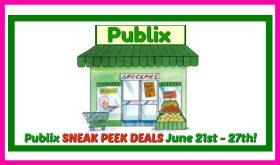 Publix SNEAK PEEK Deal Matchups June 21st – 27th!