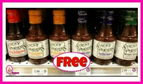 Sticky Fingers BBQ Sauce FREE at Publix!