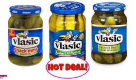 Vlasic Pickles – 46¢ after Coupons & Virtual Visa Rewards!