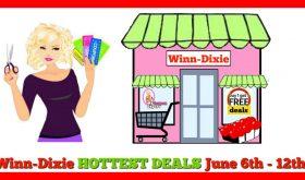 Winn Dixie HOT DEALS June 6th – 12th!