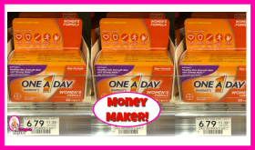 One A Day Vitamins -Money Maker at Publix!