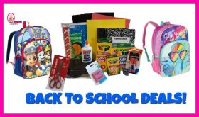 Back to School Supply Deals July 22nd – 28th!!