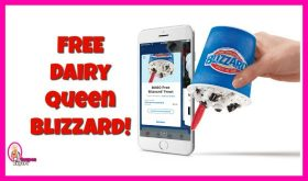 Dairy Queen Free Blizzard!!  Check this out!