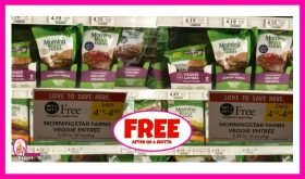 Morningstar Farms Veggie Products FREE at Publix!
