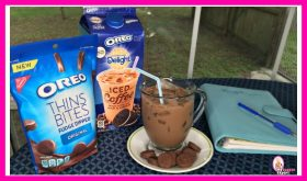 International Delight OREO Iced Coffee and OREO Thins Bites!