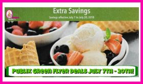 Publix GREEN Flyer Deals July 7th – 20th!