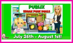 Publix SNEAK PEEK Matchups July 26th – August 1st!