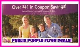 Publix Purple Flyer Deals July 28th – August 10th!