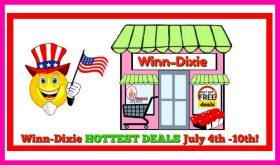 Winn Dixie Hottest Deals July 4th – 10th!
