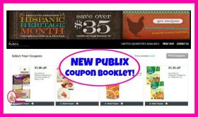 Publix Coupon Booklet! Family Celebrations Hispanic Heritage Month!
