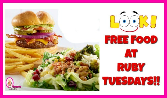 FREE Ruby Tuesday Burger or Garden Bar Entree AND Lemonade!
