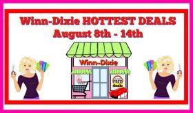 Winn Dixie HOT DEALS & Matchups August 8th – 14th!!