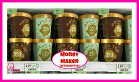 Halo Top Ice Cream MONEY MAKER after Coupons & Ibotta at Publix!
