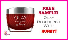 Free Olay Whips Sample!  Check it out!