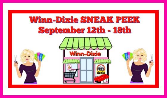 Winn Dixie DEALS September 12th – 18th!