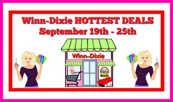 Winn Dixie Hottest Deals September 19th – 25th!