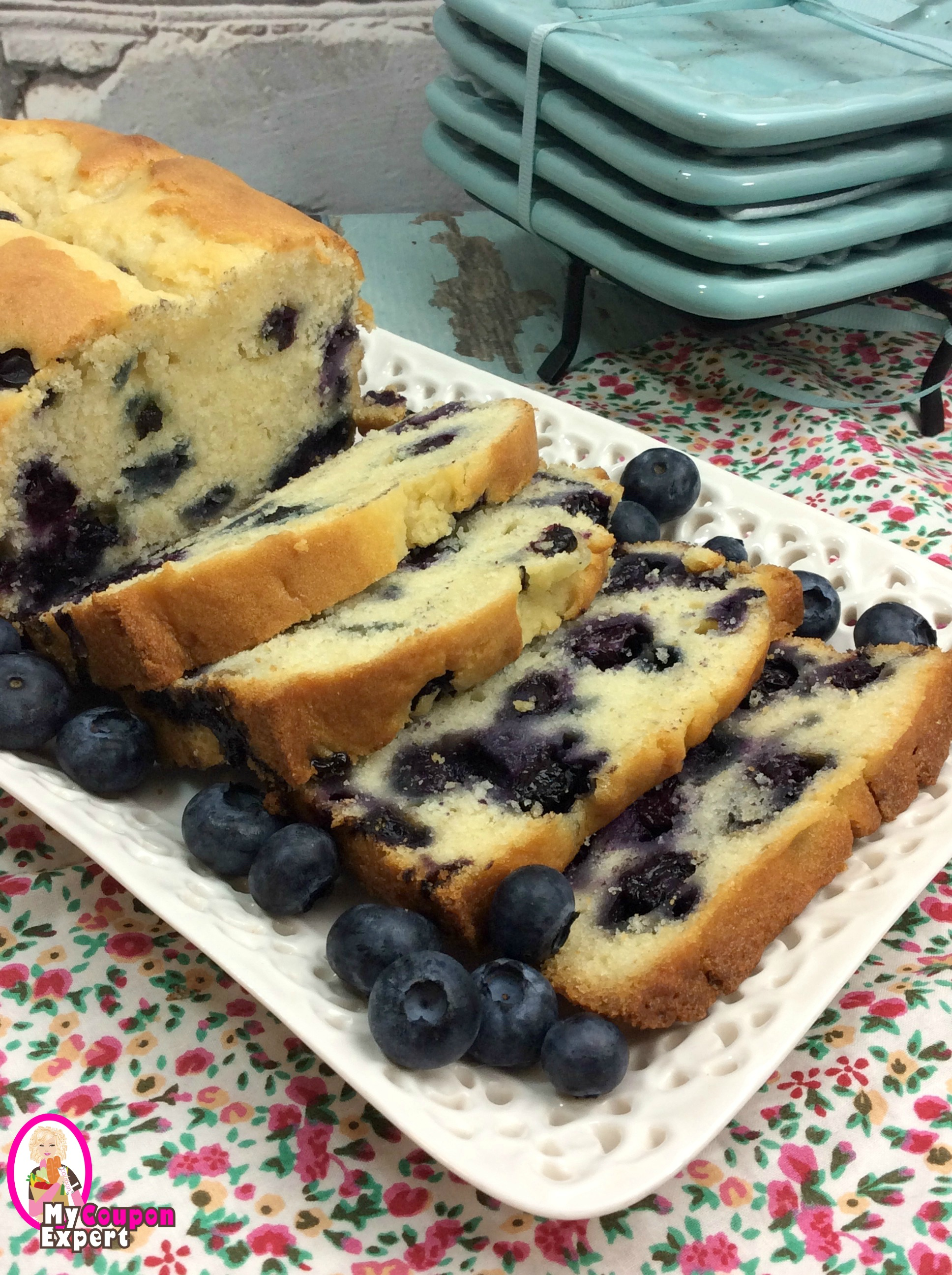 KETO BLUEBERRY BREAD!  So delicious!