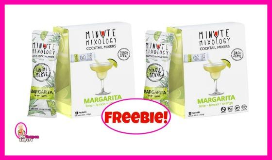 HURRY HURRY!!!  Free Minute Mixology Sample!!  GO!