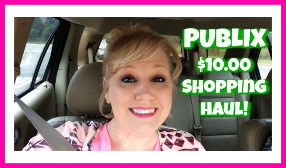 Publix Couponing Haul for NEWBIES!  Follow me as I shop!