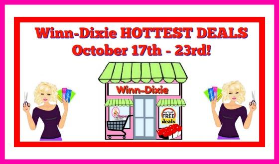Winn Dixie HOT DEALS & Matchups October 17th – 23rd!