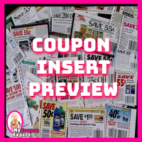 Coupon Insert Preview – Sunday, March 17th TWO INSERTS!