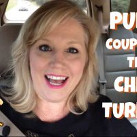 Publix Couponing Haul VIDEO!  Cheap Turkeys this week!