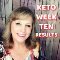 KETO DIET Week TEN weigh in results and how I'm doing!