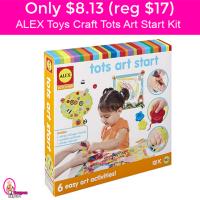 Only $8.13 (reg $17) ALEX Toys Craft – Tots Art Start Kit!