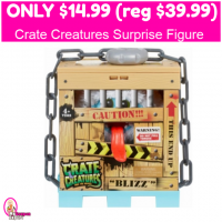 Crate Creatures Surprise Figure Only $14.99 (reg $39.99)!