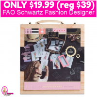 FAO Schwartz Fashion Plates Designer Set Only $19.99 (reg $39.99) TODAY ONLY!