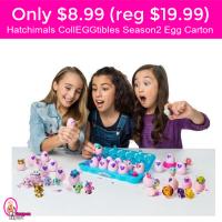 HURRY!  Only $8.99 (reg $19.99) Hatchimals CollEGGtibles Season 2 Egg Carton!