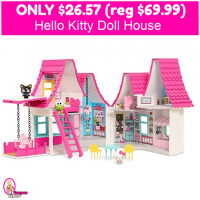 Hello Kitty Doll House Only $26.57 (reg $69.99)!