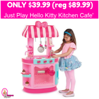 Hello Kitty Kitchen Cafe' Only $39.99 (reg $89.99)!  Free Shipping!
