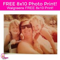 FREEBIE ALERT!  Walgreens 8×10 Photo Print NOW through 12/8!