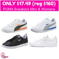 PUMA Sneakers Only $17.49 (reg $60)!  HURRY!