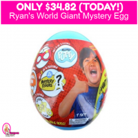 Ryans World Giant Mystery Egg Only $34.82!!  HURRY!