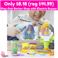 Play-Doh Buzz 'n Cut Barber Shop with Electric Buzzer Only $8.18 (reg $14.99)!