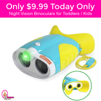 Only $9.99 Little Experimenters Night Vision Binoculars for Toddlers and Kids!