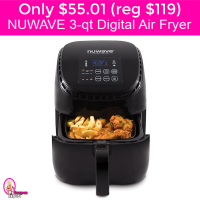 OH EM GEE!  NUWAVE Digital Air Fryer just $55.01 (reg $119) after discounts and Kohls Cash!
