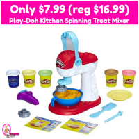 Play-Doh Kitchen Spinning Treat Mixer Only $7.99 (reg $16.99)!